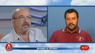 "Video Vauro vs Matteo Salvini ""Razzista e fascista!""- Agorà Estate 05/08/2015 MP3, 3GP, MP4, WEBM, AVI, FLV Juli 2018"