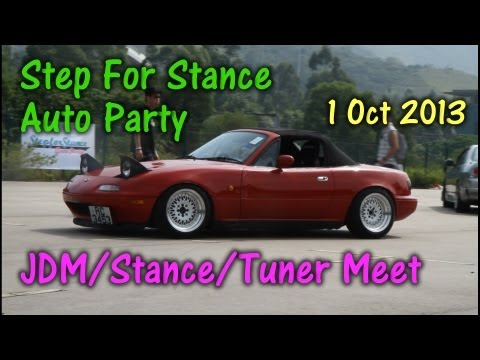 Step For Stance Auto Party 1/10/2013 – JDM/Stance/Tuner Meet