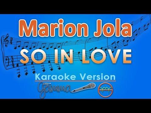 Video Marion Jola - So In Love (Karaoke Lirik Tanpa Vokal) by GMusic download in MP3, 3GP, MP4, WEBM, AVI, FLV January 2017