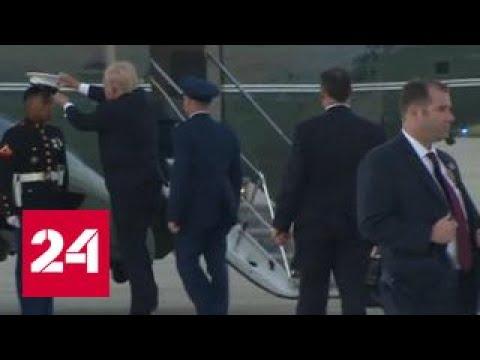 Видео с заботливым Трампом покорило Интернет - DomaVideo.Ru