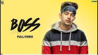 Boss : Jass Manak (Official Video) Satti Dhillon | Ri | Latest Punjabi Songs | GK.DIGITAL | Geet MP