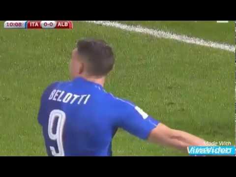 Italia vs Albania 2-0
