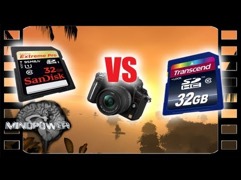 Memory Card Throwdown – Sandisk Extreme vs Transcend, Plus a Transcend Wi-Fi SDHC Memory Card Review