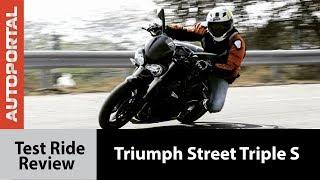 8. Triumph Street Triple S - Test Ride Review - Autoportal