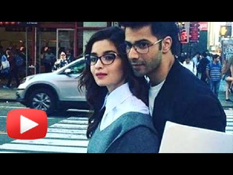 Varun Dhawan Alia Bhatt Get Cozy In The Middle Of