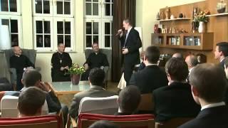 Opus Dei piiskop prelaat külastas Slovakkia