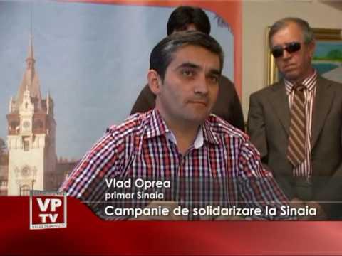Campanie de solidarizare la Sinaia
