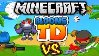 Download Lagu Minecraft BLOONS TD BATTLES #1 with Vikkstar (Minecraft Tower Defense) Mp3