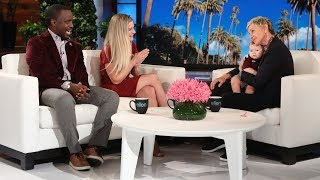 Video Ellen Chats with Single Mom Ashton Robinson and Her Professor Henry Musoma MP3, 3GP, MP4, WEBM, AVI, FLV Juli 2018