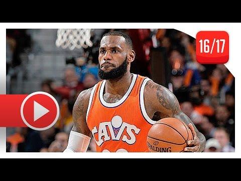 LeBron James Full Highlights vs Bulls (2017.01.04) - 31 Pts, 8 Reb, 7 Ast