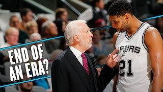 Gregg Popovich's hilarious answer to Tim Duncan retirement question by SB Nation