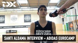 Santi Aldama Interview - Adidas Eurocamp