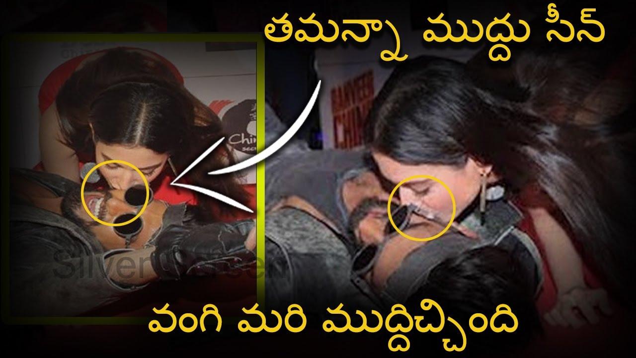 Tamanna Kissing Ranveer Singh At Public Function