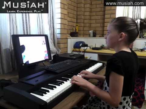 Piano Video: Online Piano Lessons Song #14 Big Ben (Part 1) played by Jessica