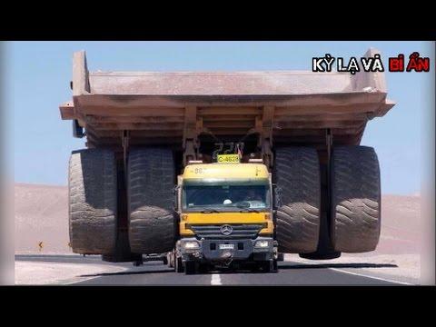 10 chiếc xe tải khủng nhất thế giới