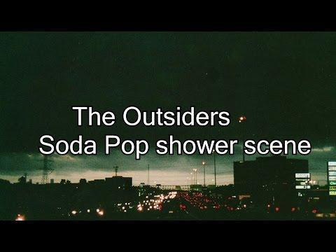The Outsiders- Soda Pop shower scene  (HD)