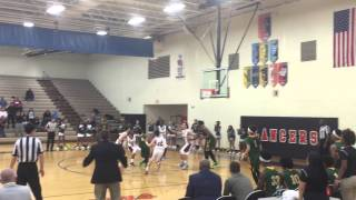 Cory Hill's Game Winner to give Prince George 63-61 OT Victory