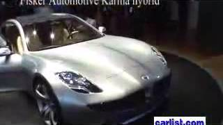 Fisker Automotive Luxury-hybrid Karma