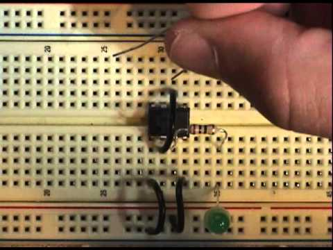 555 - How to put together a simple 555 timer circuit.