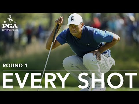 Tiger Woods: Every shot from a first-round 72 at 2019 PGA Championship