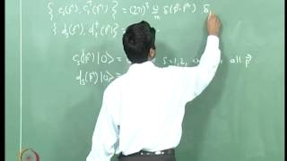 Mod-03 Lec-21 Fermion Quantization V