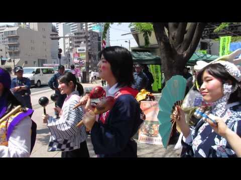 平成27年度 横川ふしぎ市 広島市立中広中学校生徒 活躍!