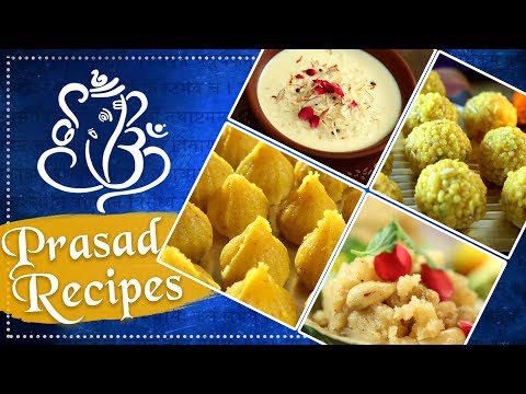 Ganesh Chaturthi Special Prasad Recipes – Indian Dessert Recipe for Festivals – Rajshri Food