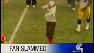Steelers' James Harrison slams Browns Fan