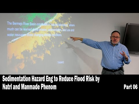 Sedimentation Hazard Eng to Reduce Flood Risk by Natrl and Manmade Phenom - Part 06