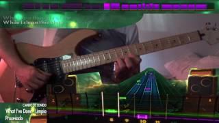 Versión solista de What I've done (Linkin' Park) en Rocksmith 2014/Remastered. Este vídeo no tiene ningún interés comercial.