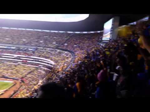 Video - Libres y lokos y aficion alentando hasta el final, America vs tigres final vuelta - Libres y Lokos - Tigres - México