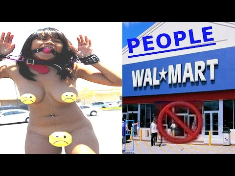 INAPPROPRIATE PEOPLE AT WALMART NEW 2016