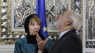 دیدار کاترین اشتون با نرگس محمدی و مادر ستار بهشتی در ایران
