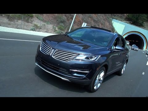 Lincoln - The 2015 Lincoln MKC has some stiff competition with the Cadillac SRX and Audi Q5 as its benchmarks. Brian Cooley tells if it measures up.