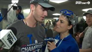 Cody Bellinger Postgame Interview | Dodgers vs Brewers NLCS Game 7