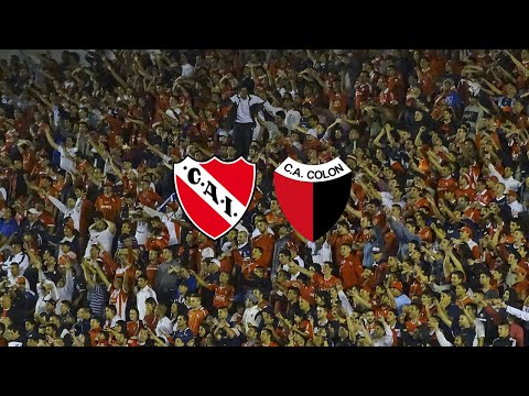 Independiente 4 - 1 Colón   compilado de la hinchada - La Barra del Rojo - Independiente