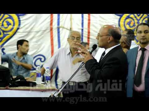 الدوشي شاكر : يطرح مطالب محامين الاقصر