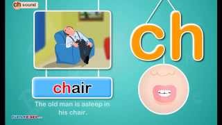 A great video for kids to learn the pronunciation and sound of consonant blend - ch. Kids will also learn a lot of words that contain ...