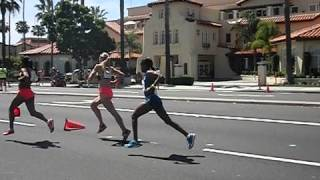 2015 Carlsbad 5000 - Women's Elite Race - Slow Motion Video