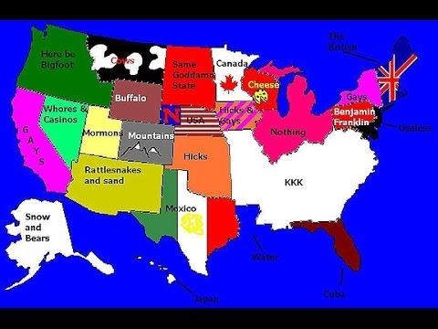 Мнение Американцев о разных штатах (Опрос) - DomaVideo.Ru