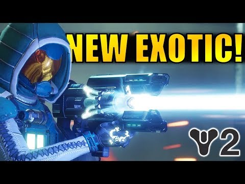 Destiny 2: NEW EXOTIC WEAPON! Coldheart Trace Rifle!