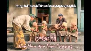 Video Tombo Ati Sunan Bonang (dan arti) Cak Nun - No 1 Evergreen Indonesian Sufi Saint Song MP3, 3GP, MP4, WEBM, AVI, FLV Januari 2019