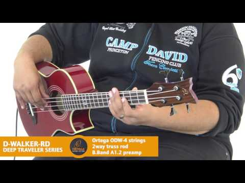 ORTEGA GUITARS | D-WALKER-RD - TRAVELER SERIES (Acoustic Bass Guitar)