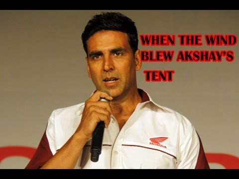 The Shaukeens: When the wind blew Akshay Kumar's tent in Mauritius -BT