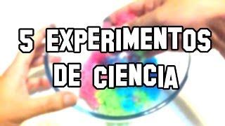 5 Experimentos de Ciencia, Caseros y Fáciles - Experimentos Caseros - LlegaExperimentos