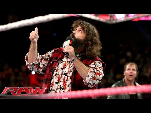 Raw - The WWE Hall of Famer discusses how Hell in a Cell changed his life, and what horrors await Dean Ambrose and Seth Rollins when they step inside the structure for the first time. SEE FULL RAW...