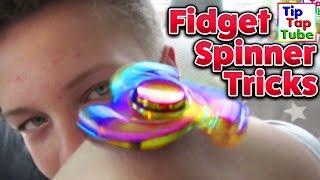 Video FIDGET SPINNER TRICKS   TipTapTube Spielzeug MP3, 3GP, MP4, WEBM, AVI, FLV November 2017