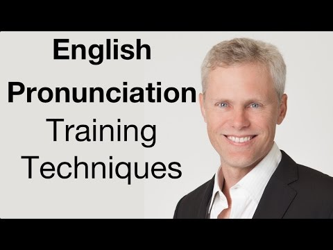 Pronunciation Training Techniques