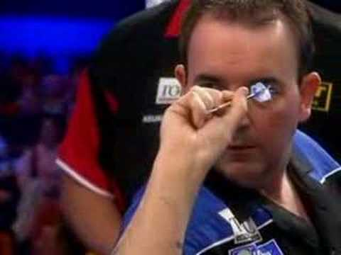 darter - This is Phil Taylors fourth perfect nine Dart Finish thrown on the Topic International Darts League on 8th may 2007. For more dart videos go to my darts webs...