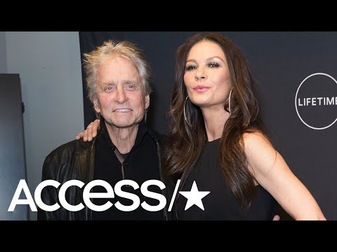 Catherine Zeta-Jones Claps Back At Michael Douglas Sexual Misconduct Allegations | Access